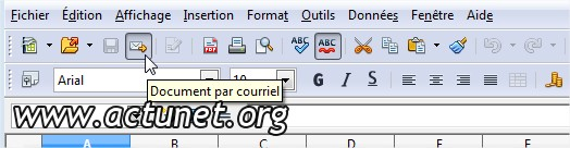 Document par courriel